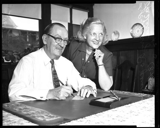 Retires, 1957