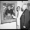 Van Gogh exhibit at Barnsdal Park, 1957