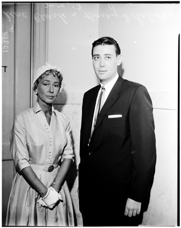 Television suit, 1958