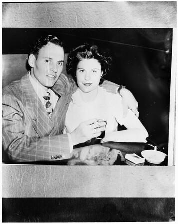 Kidnap victim of ex-husband, 1952