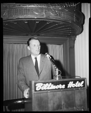 World affairs luncheon, 1960