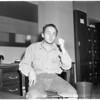 Murder suspect in murder of Samuel Levine, 1960