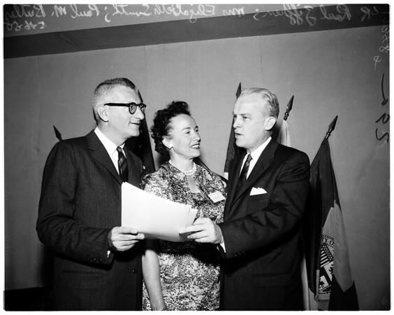 Western Democratic Conference, 1958