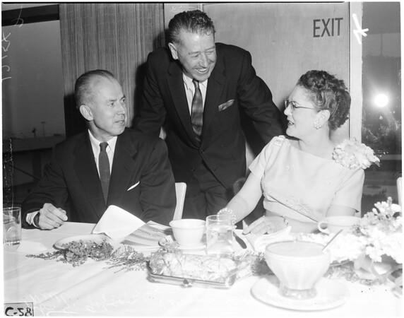 New President of San Pedro Chamber of Commerce, 1957
