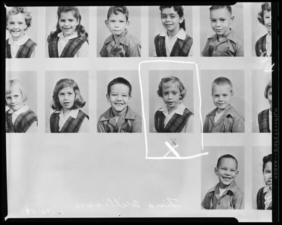 Missing girl, 1959