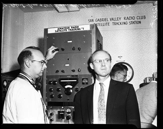 Satellite tracking, 1957