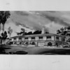 A drawing of the mission style City Hall to be completed in Palos Verdes Estates for an estimated $350,000