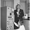 Radiation check, 1961