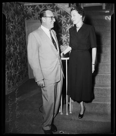 Charles S. Howard marriage, 1951