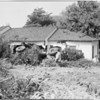 Truck into house at 1378 Doheny Drive, 1957