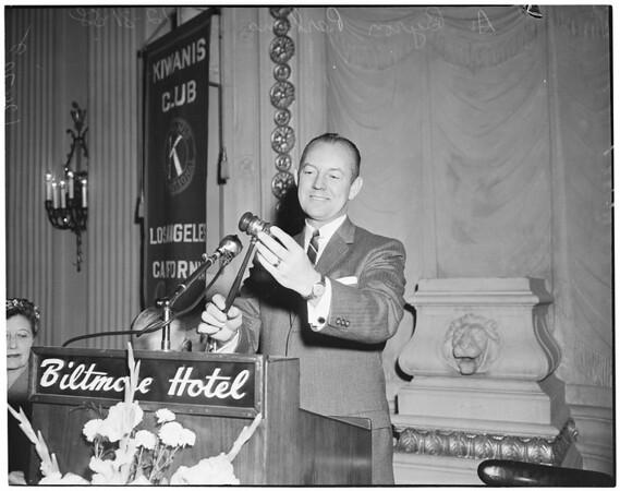 Kiwanis President, 1958