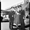 Arrival at International Airport, 1957