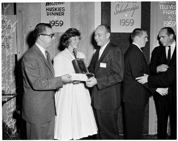 Long Beach Century Club award, 1960