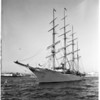 Trujillo yacht at Santa Monica, 1958