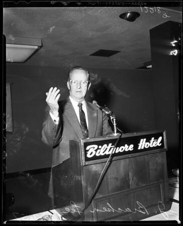 Transportation meeting, 1957