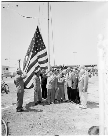 Flag day (playground), 1952