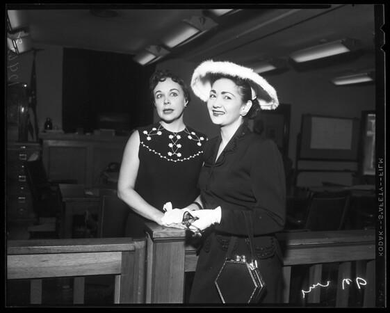 Jewell divorce, 1958
