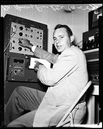 Satellite recording, 1957