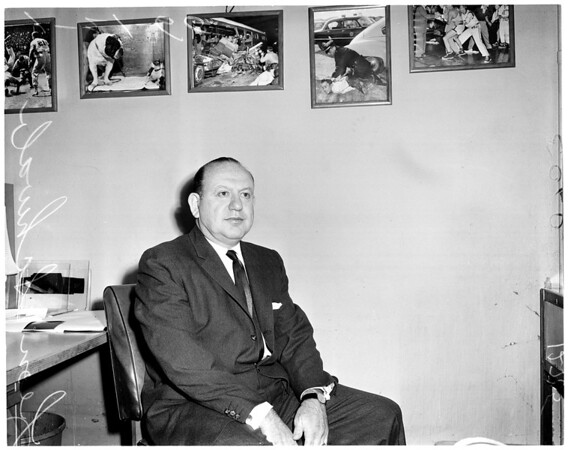 Sports jury box, 1960