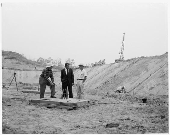 Fullerton reservoir, 1960