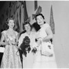 Detail 1 of 2, Society -- Women planning Saint John's Hospital Party, 1955