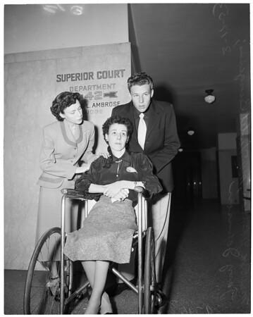 Attempt murder trial (Lo Raine Johnson), 1953