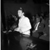 Freeway billboards hearing, 1953