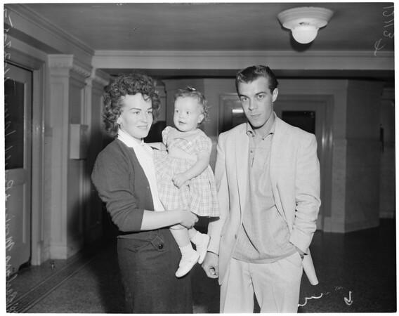Divorce case, 1957