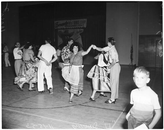 Detail 1 of 6, Folk dances, 1953