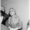 Detail 2 of 4, Vice President Nixon's mother returns to Los Angeles, 1960