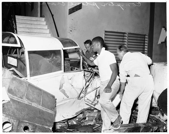 Detail 1 of 7, Compton plane crash, 1960