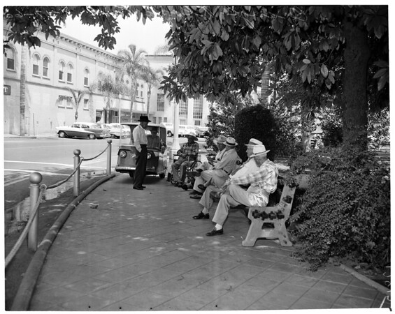 Detail 2 of 4, Orange Plaza Park (Orange County section), 1960