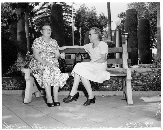 Detail 1 of 4, Orange Plaza Park (Orange County section), 1960