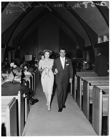 Donnell--Bricker wedding, 1958