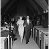Donnell--Bricker wedding, 1958