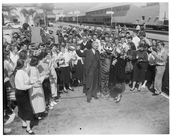 Doctor Coons send-off, 1953