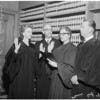 Municipal judges, 1960