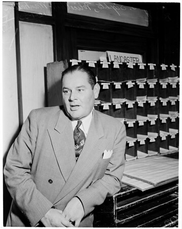 Grand Jury investigation, 1953