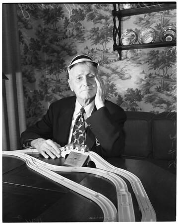 Railroader -- Retired engineer, 1956