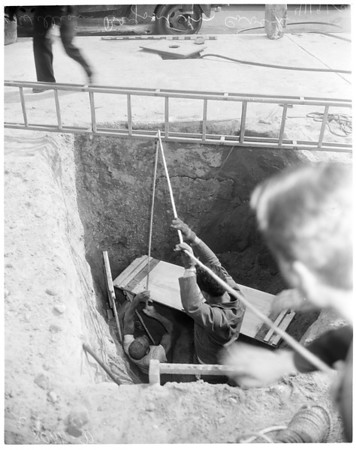Cave-in, 1954