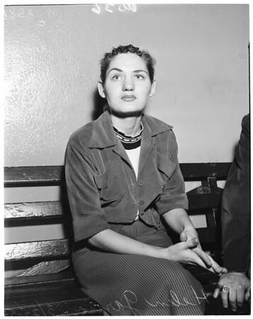 Narcotic addict, 1953