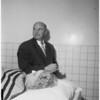 Ethel Milne Gilmore (copy picture), and morgue shot, 1953