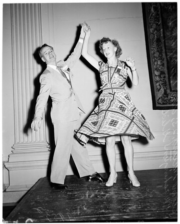 Detail 2 of 7, National Association of Dance and Affiliated Artists convention (Biltmore Hotel), 1953