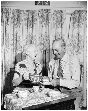55th wedding anniversary, 1953