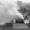 Detail 3 of 19, Fire at Pico Boulevard and Broadway, 1954