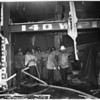 Detail 5 of 19, Fire at Pico Boulevard and Broadway, 1954