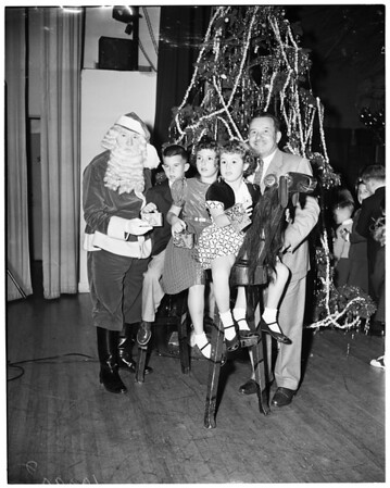 Breakfast Club Christmas party, 1953