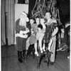 Breakfast Club Christmas party, 1953