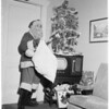 Woman Santa Claus, 1953