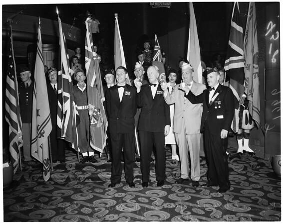 Canadian Military ball (Palladium), 1953